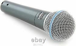 (3) New Shure BETA 58A Vocal Mics Authorised Dealer Make Offer Buy It Now