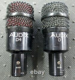 Audix D4 & D1 Hypercardioid Dynamic Percussion Microphones Priced to Sell