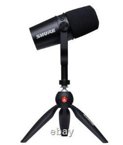 NEW Shure MV7 USB and XLR Dynamic Microphone Podcast Kit