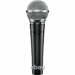 NEW Shure SM58-LC Dynamic Professional Microphone (Sennheiser, Audio-Technica)