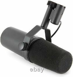 New Shure SM7B Mic with Switchable Response Auth Dealer Make Offer Buy It Now