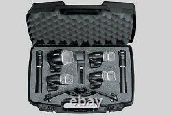 Pro PGDMK 6 Drum Mic Pack PGDMK6 Mounts & Cables