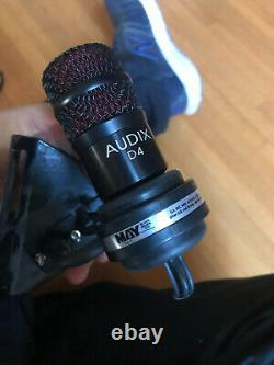 Randall may internal 5pc mic System package for drums Audxi d6 d4 + Shure