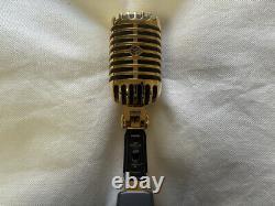 SHURE 55SH Series-II 40th Anniversary HIBINO Limited Gold Microphone Mic