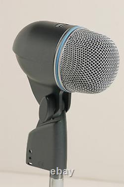 SHURE BETA52 KICK DRUM MICROPHONE & 15' CABLE beta beta52a 52 52a bass mic