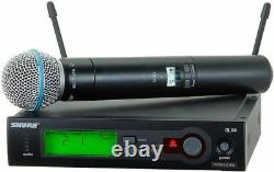 SHURE SLX24/Beta58 Wireless Handheld Mic System #1 RATED MIC IN THE UNIVERSE