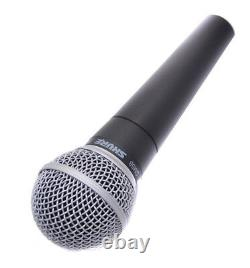 SHURE SM58-LCE Cardioid Dynamic Microphone No Switch Recording Live Performance