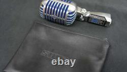 SHURE Super-55 Blue Model Microphone Skeleton Mic