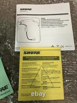 SHURE WH20XLR Dynamic Microphone Headset Wired Cardioid XLR Connector
