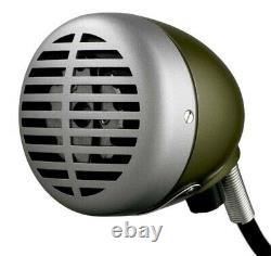 Shure 520DX Green Bullet Harmonica Microphone Mic