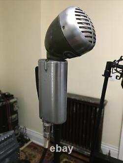 Shure 520SL Green Bullet Controlled Magnetic Microphone -w- cable