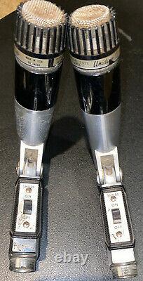 Shure 545S Series 2 Unidyne III Dynamic (2) Microphones