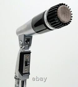 Shure 545S Series 2 Unidyne III Unidirectional Dynamic Microphone Tested-Working