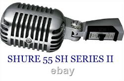 Shure 55 SH Series II Vocal Microphone with 20ft. XLR microphone cable
