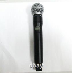 Shure ADX2FD Digital Handheld Wireless Microphone Transmitter SM58 Capsule G57