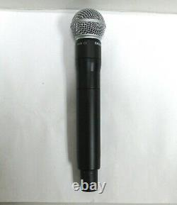 Shure ADX2FD G57 Digital Handheld Wireless Microphone Transmitter SM58 Capsule