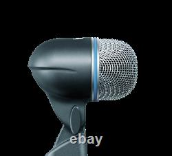 Shure BETA 52A Low Frequency Punch/High Power Bass Kick Drum Microphone
