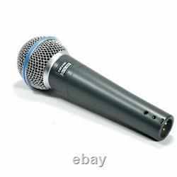 Shure BETA 58A Supercardioid Dynamic Microphone with High Output Neodymium