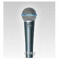 Shure BETA58A Handheld Dynamic High Output Close Up Live Vocal Microphone