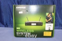 Shure BLX24R/SM58-H9 Wireless Microphone System Handheld SM58 BLXR4 Unit NIB