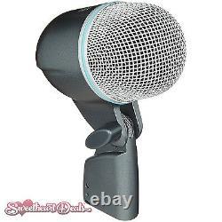 Shure Beta 52A Supercardioid Dynamic Kick Drum & Bass Microphone Bundle