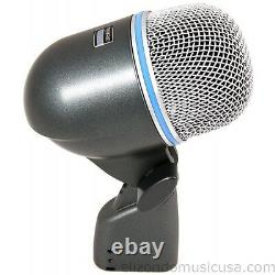 Shure Beta 52A Supercardioid Dynamic Microphone for Kick Drum UPC 042406112833