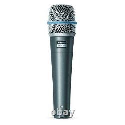 Shure Beta 57A Instrument High Output Supercardioid Dynamic Microphone