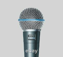Shure Beta 58A Supercardioid Dynamic Vocal Microphone New In Box