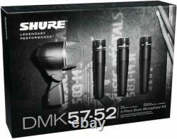 Shure DMK57-52 Drum Mic Kit Brand New