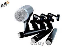 Shure DMK57-52 Drum Supercardioid Studio Microphone Kit DMK5752 DMK 57