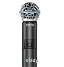 Shure GLXD24/B58A Digital Vocal Wireless System with Beta 58A UPC 00042406262330