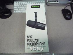 Shure MV7 Podcast Microphone New Sealed