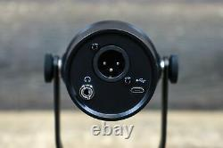 Shure MV7 Podcast Microphone USB and XLR Dynamic Cardioid Podcast Microphone