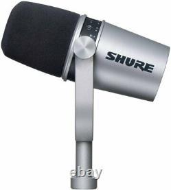 Shure MV7 Ultimate Mic Podcast Bundle Pro Tools 1st & Studio One 5 Prime