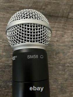 Shure PGXD2 / SM58 X8 Handheld Wireless SM58 Microphone Transmitter WoW