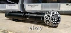 Shure QLXD2/SM58 Handheld Wireless Microphone G50 Freq with SM58 Capsule