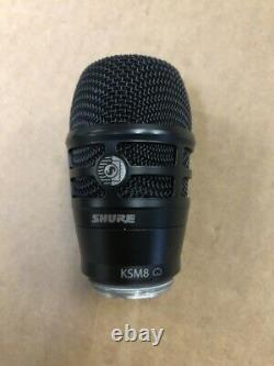 Shure RPW174 KSM8 cardioid dynamic wireless microphone capsule Great Condition