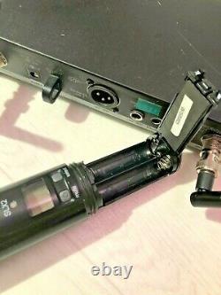 Shure SLX 4 SLX 2 (800-820MHz) Wireless Microphone Set with SM58