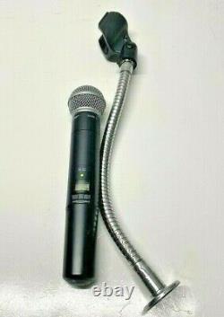 Shure SLX2/SLX2 Wireless Microphone Transmitter (no reciever)+ Shure stand/mount