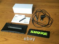 Shure SM57 Dynamic Instrument Microphone // Mic // Perfect'as new' condition
