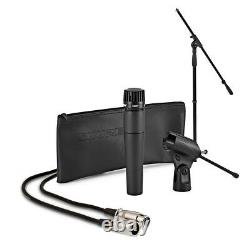 Shure SM57 Dynamic Vocal Mic with Boom Stand and 6m 3-pin XLR Cable