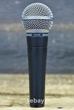 Shure SM58 Legendary Unidirectional Cardioid Dynamic Pro Vocal Microphone