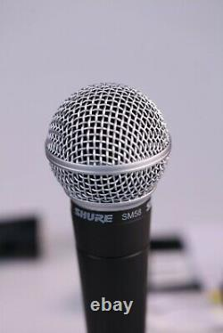 Shure SM58 Professional Vocal Dynamic Microphone Genuine New, No Box