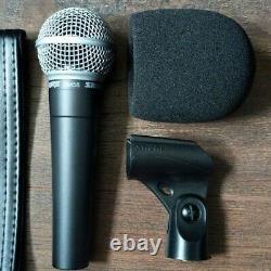 Shure SM58 Professional Vocal Dynamic Microphone Live PA/Studio Singer Mic