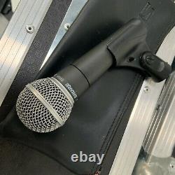 Shure SM58 Professional Vocal Dynamic Microphone Live PA/Studio Singer Mic/Case