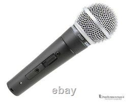 Shure SM58s Dynamic Handheld Vocal Microphone with On/Off Switch
