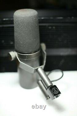 Shure SM7 Microphone Original First Revision Made in U. S. A. Vintage Model 1973