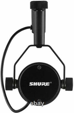 Shure SM7B Cardioid Dynamic Microphone Delivers Warm & Smooth Audio for Broadcas