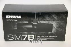 Shure SM7B Cardioid Dynamic Vocal Microphone