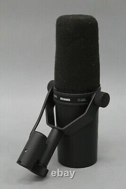Shure SM7B Cardioid Dynamic Vocal Microphone UNTESTED
